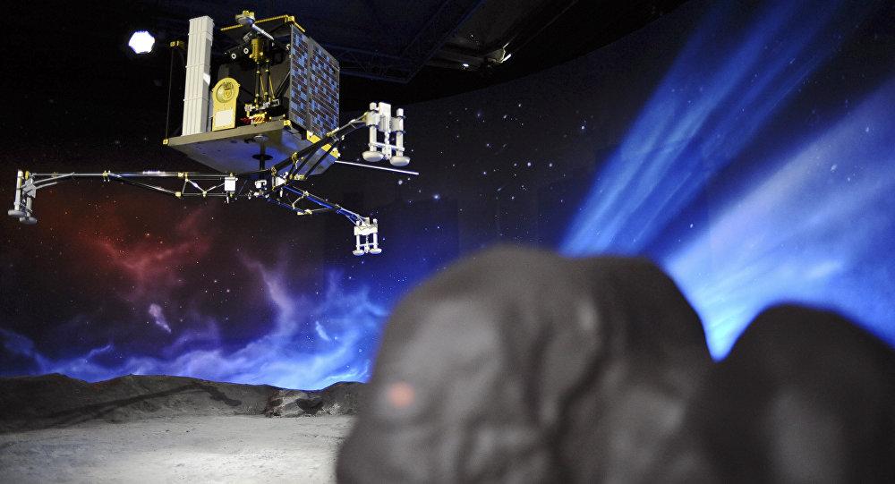 Modelo da sonda Philae