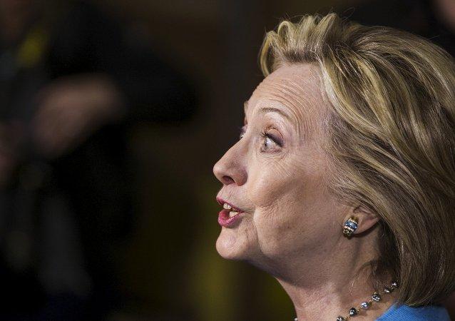 Hillary Clinton, candidata democrata para as eleições presidenciais de 2016 nos EUA.