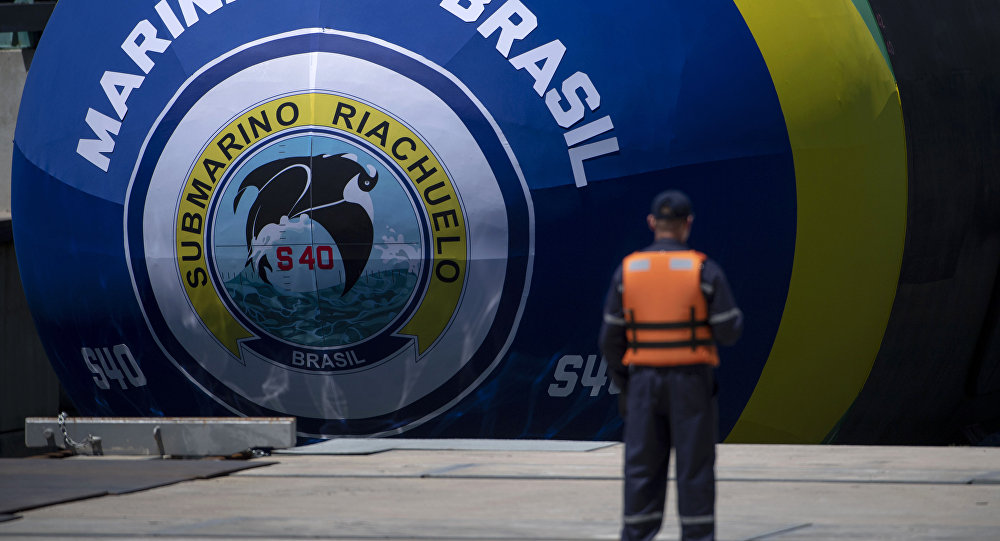 O submarino brasileiro Riachuelo
