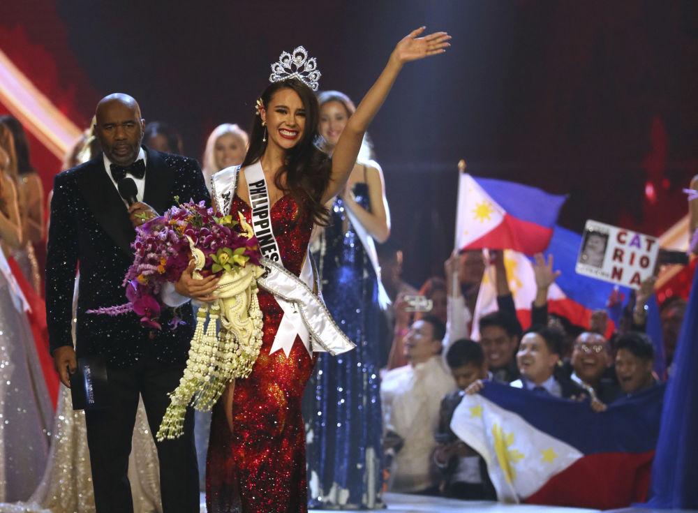 Catriona Gray, vencedora do concurso Miss Universo 2018