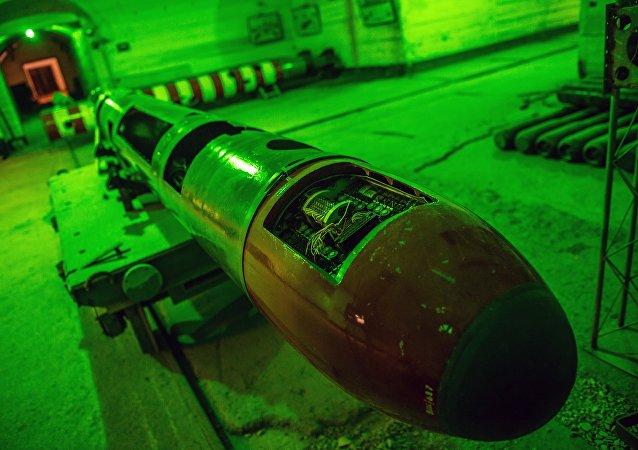 Torpedo no museu (imagem referencial)
