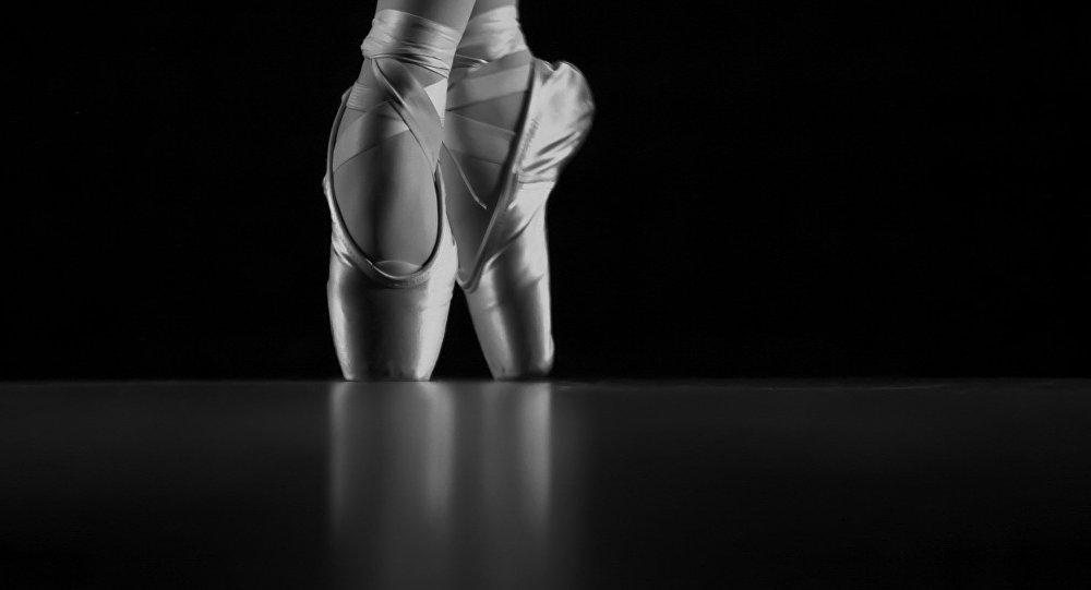 Bailarina (foto de arquivo)