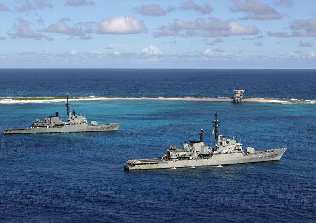 Navios da Marinha venezuelana