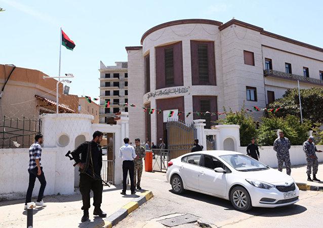 Edifício do Ministério das Relações Exteriores da Líbia (foto do arquivo)