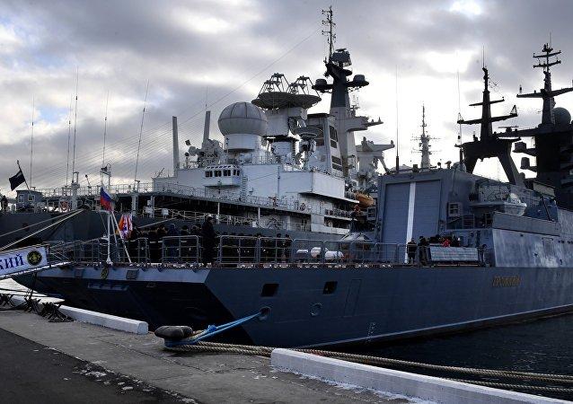 Corveta Gromky da Frota do Pacífico, Rússia, 25 de dezembro de 2018