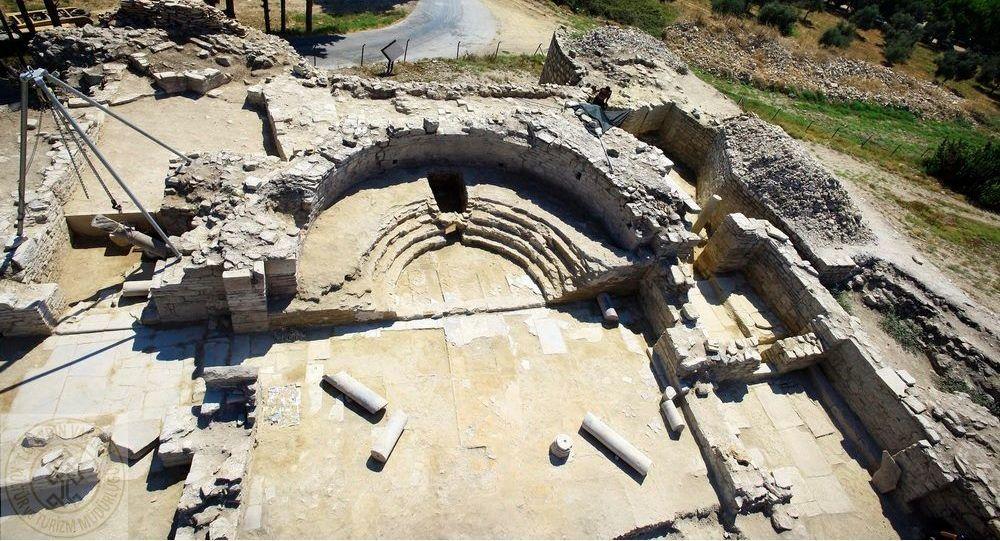 Escavações arqueológicas na província de Aidim, no ocidente da Turquia