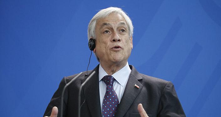 Sebastián Piñera, presidente do Chile