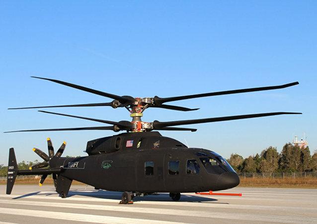 Fabricantes de aeronaves norte-americanas Sikorsky e Boeing apresentam novo helicóptero SB>1 DEFIANT™