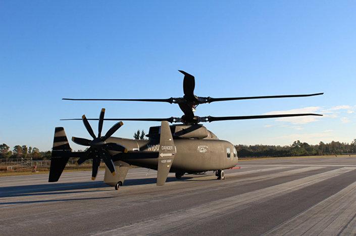 Novo helicóptero SB>1 DEFIANT™ norte-americano equipado com sistema avançado de rotor rígido