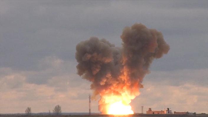 Testes do novo sistema russo Avangard (foto de arquivo)