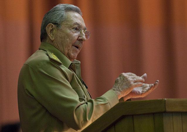 Raúl Castro em registro de 2015.