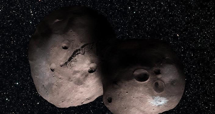 Corpo rochoso 2014 MU69 flutua no Cinturão de Kuiper