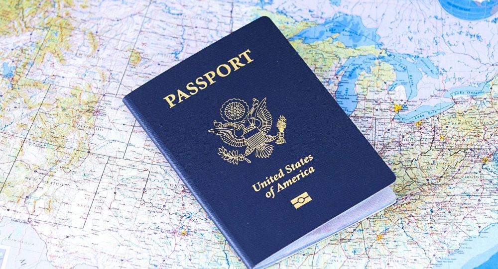 Passaporte americano (imagem referencial)