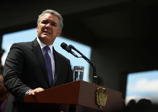 Iván Duque, presidente da Colombia