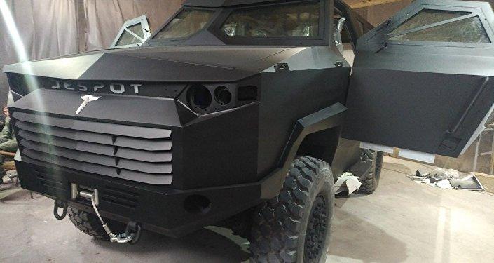Veículo blindado sérvio Despot (Déspota)