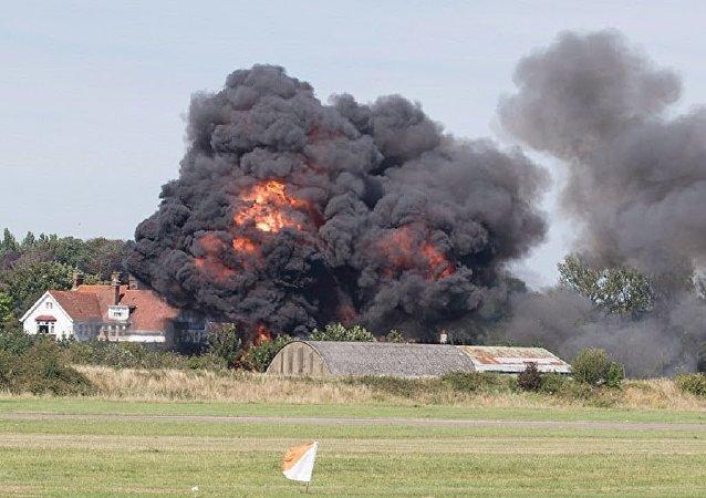 Acidente do show aéreo de Shoreham