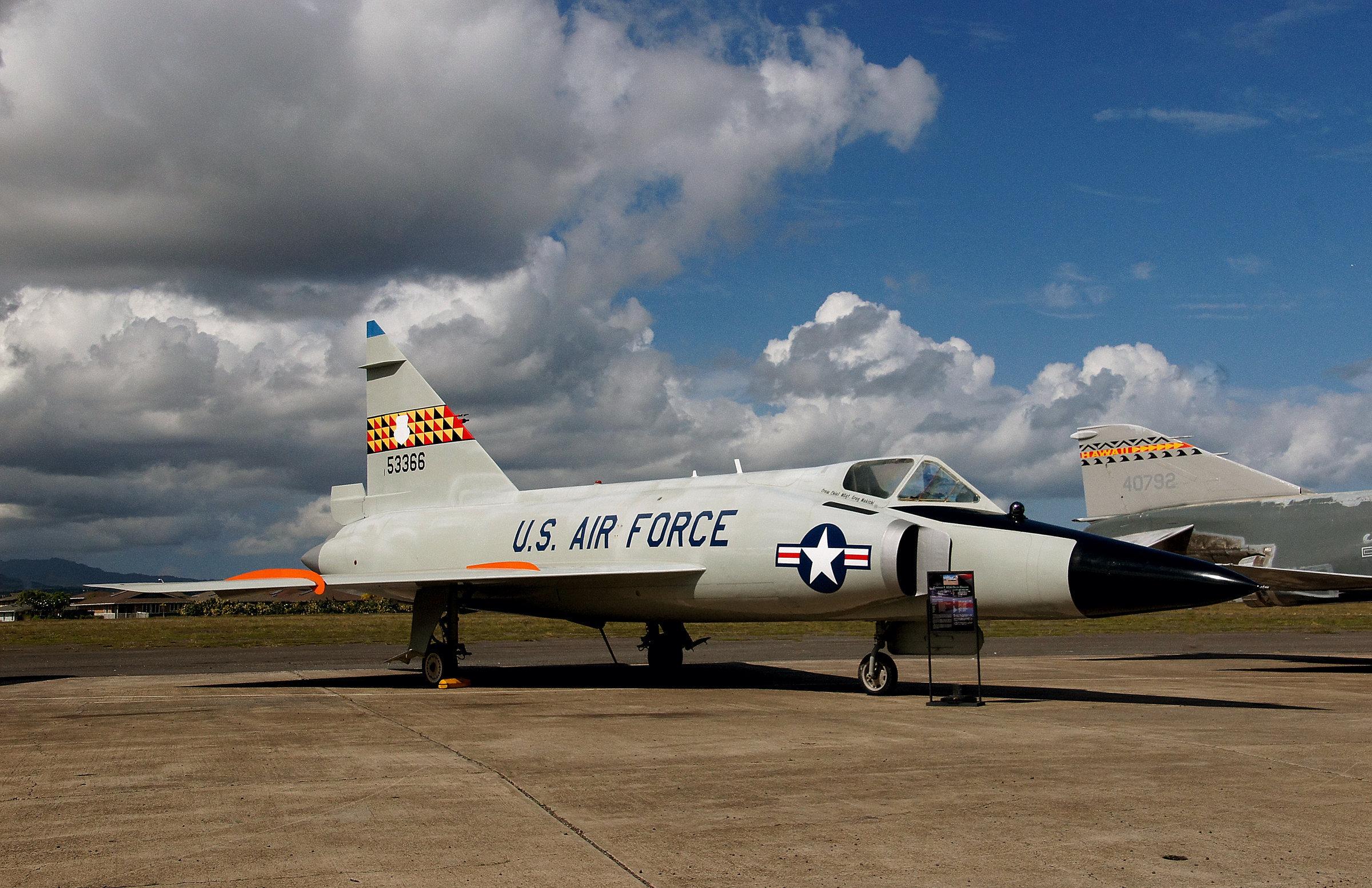 Jato americano Convair F-102 Delta Dagger
