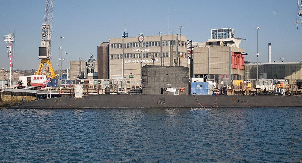 Submarino HMS Talent (S92) da Marinha Real