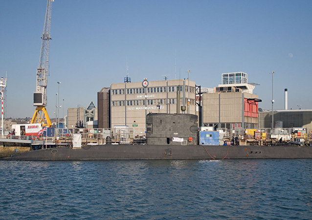 Submarino HMS Talent (S92) da Marinha Real