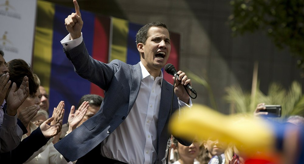 Juan Guaidó, autoproclamado presidente interino da Venezuela (foto de arquivo)