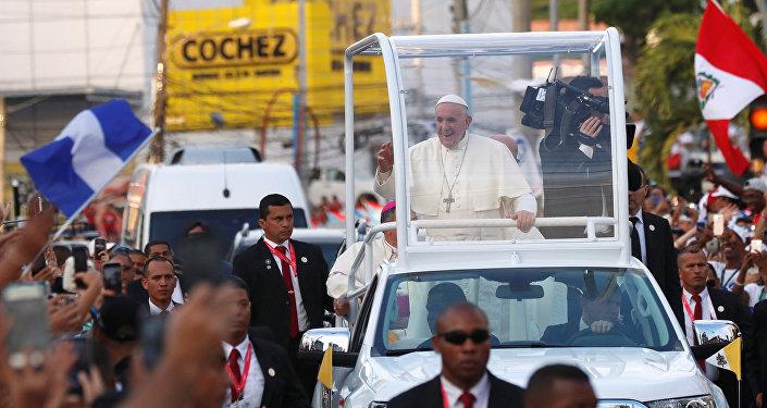 Papa Francisco no Panamá.