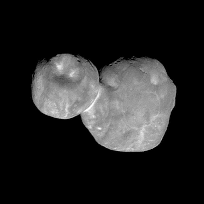 Foto mais detalhada do Ultima Thule tirada pela sonda New Horizons
