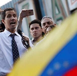 Presidente da Assembleia Nacional da Venezuela, Juan Guaidó
