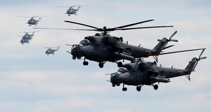 Helicópteros russos Mi-35