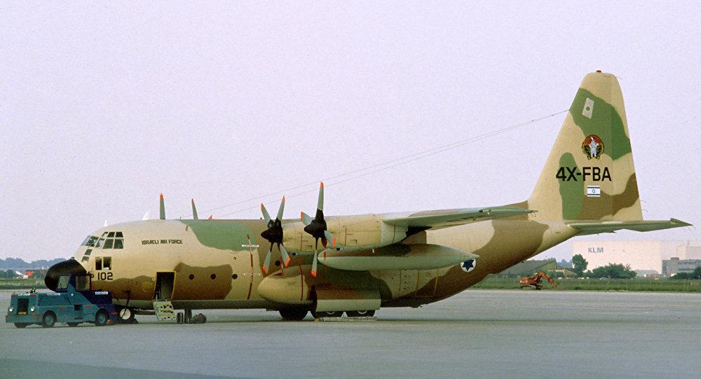 Avião de transporte C-130 Hercules israelense