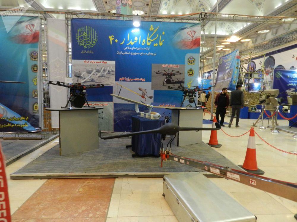 Modelos de drones de fabricação iraniana: projeto Nedaye Aseman, Simorgh
