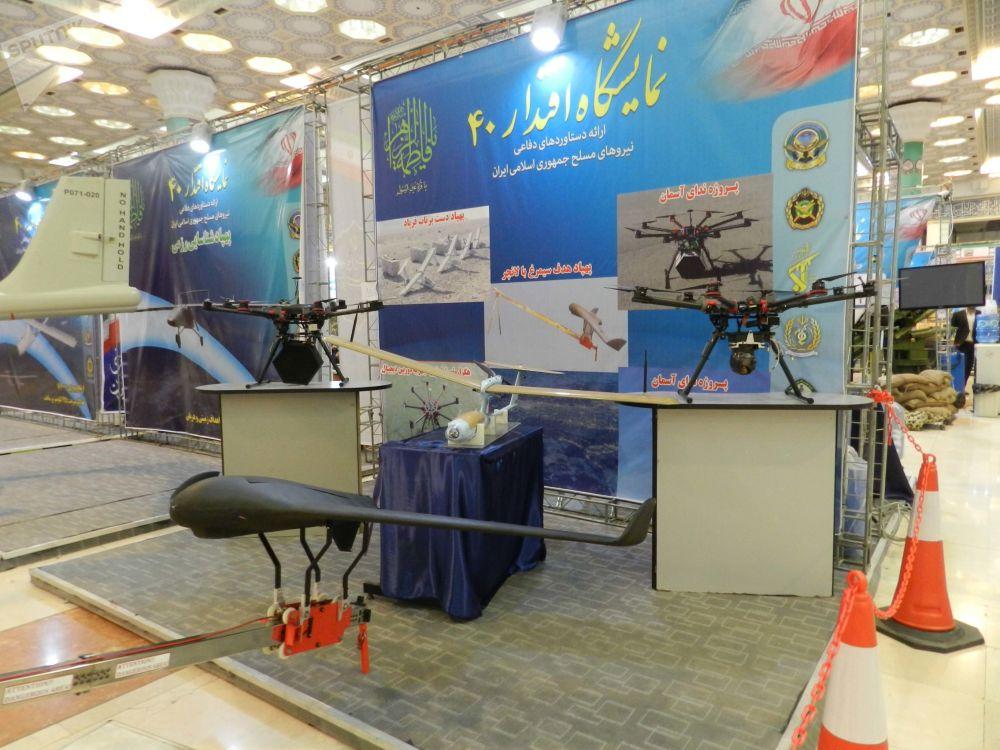 Veículos aéreo não tripulados de fabricação iraniana