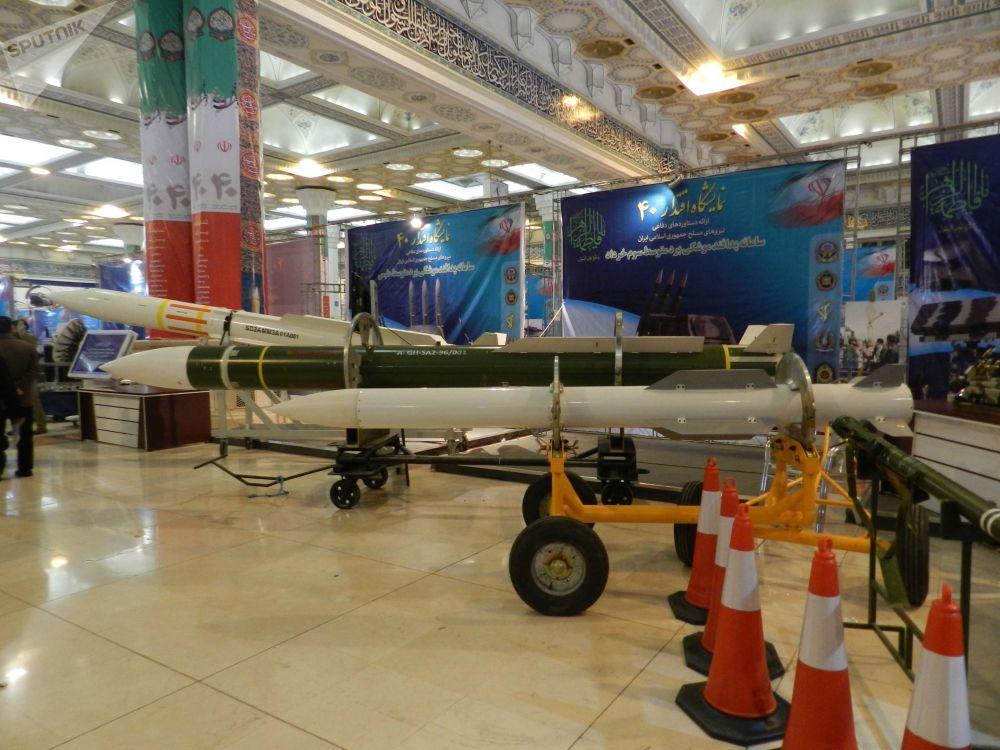 Sistema de defesa antiaérea de médio alcance