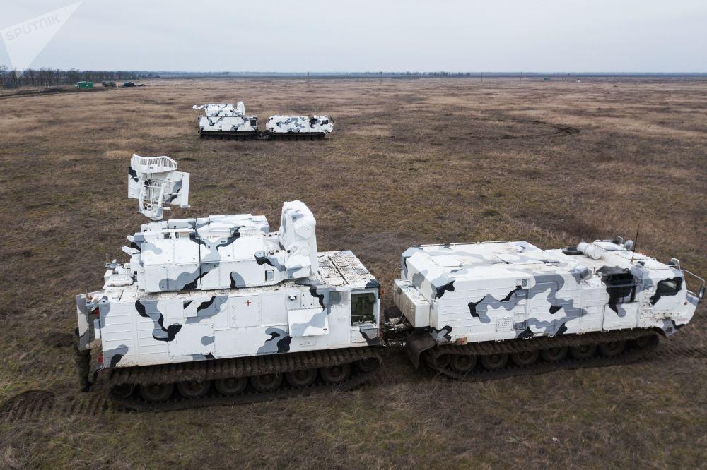 A versão ártica dos mísseis de defesa aérea Top-M2DT é projetada para operar em condições de temperaturas negativas