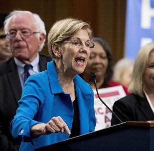Senadora democrata Elizabeth Warren