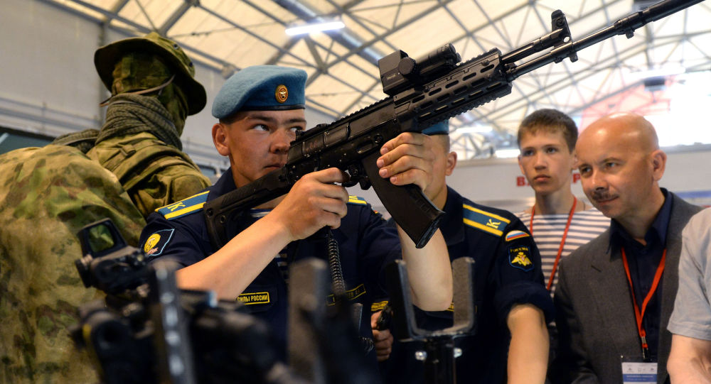 Kalashnikov apresenta as novas armas das Forças Armadas da Rússia