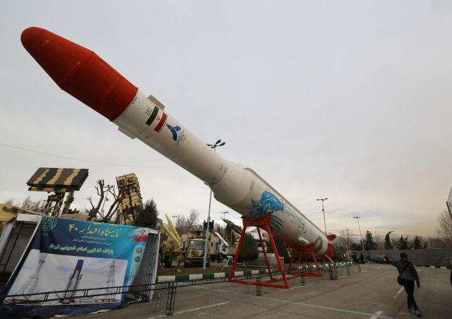 Novo míssil de cruzeiro iraniano
