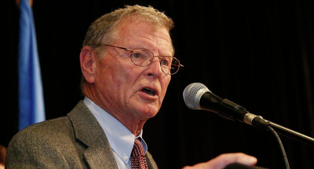 Senador republicano por Oklahoma, Jim Inhofe