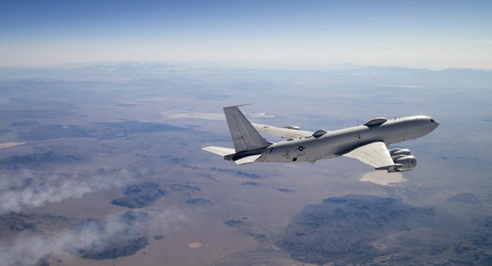 Boeing E-6B Mercury (foto de arquivo)