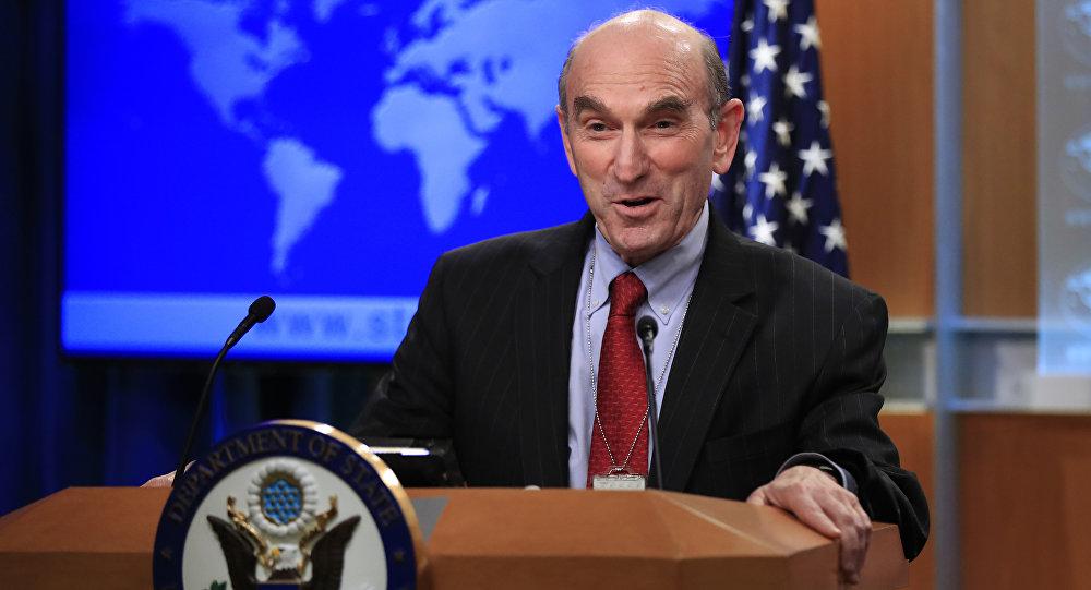 Elliott Abrams, enviado do governo dos Estados Unidos para a Venezuela