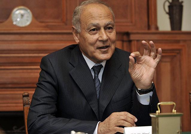 O ex-ministro de Relações Exteriores do Egito, Ahmed Aboul Gheit.