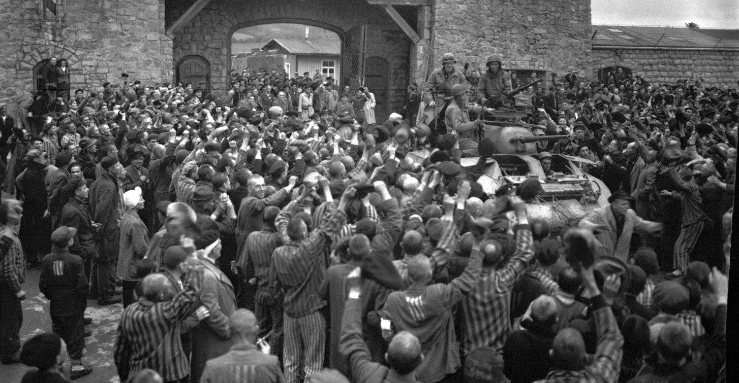 A libertação do campo de concentração de Mauthausen