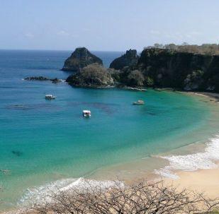 Baía do Sancho, localiza-se a oeste do Morro Dois Irmãos e a leste da Baía dos Golfinhos, no arquipélago de Fernando de Noronha, no estado de Pernambuco, Brasil