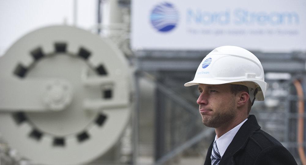 Membro da equipe construtora do projeto Nord Stream