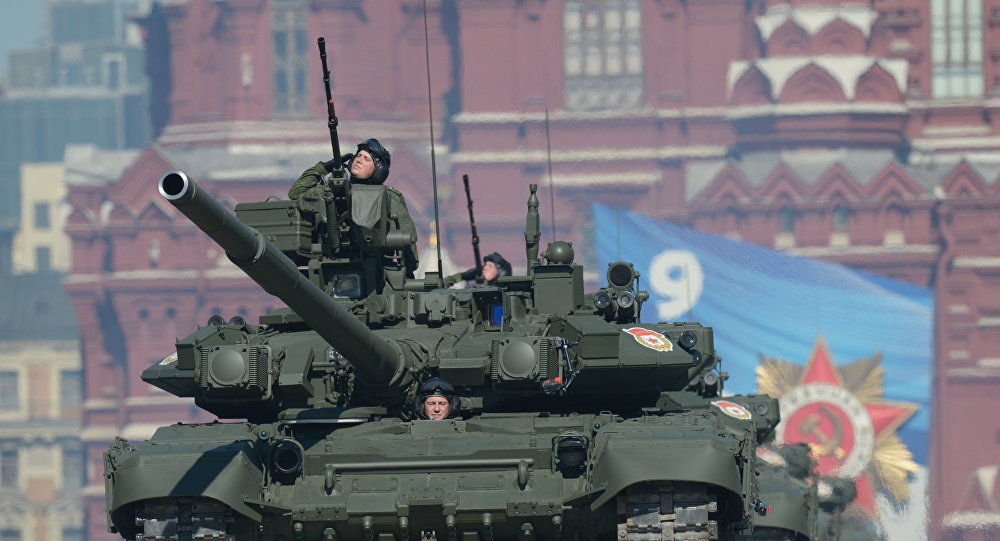 Tanque T-90.