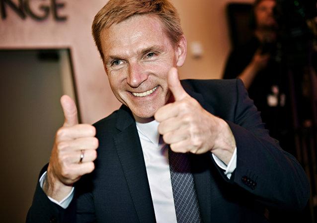 Kristian Thulesen Dahl, líder do Partido Popular da Dinamarca