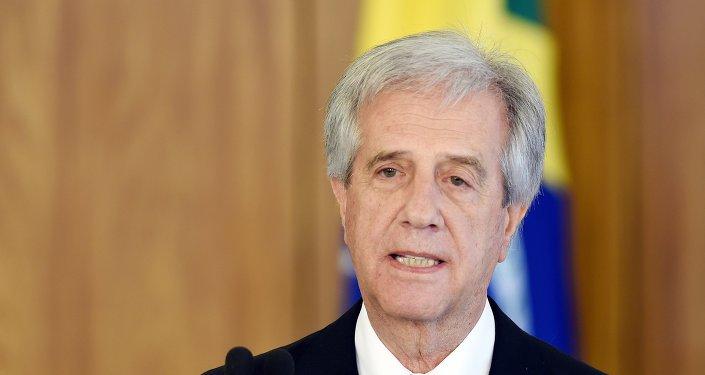 Tabaré Vázquez, presidente do Uruguai