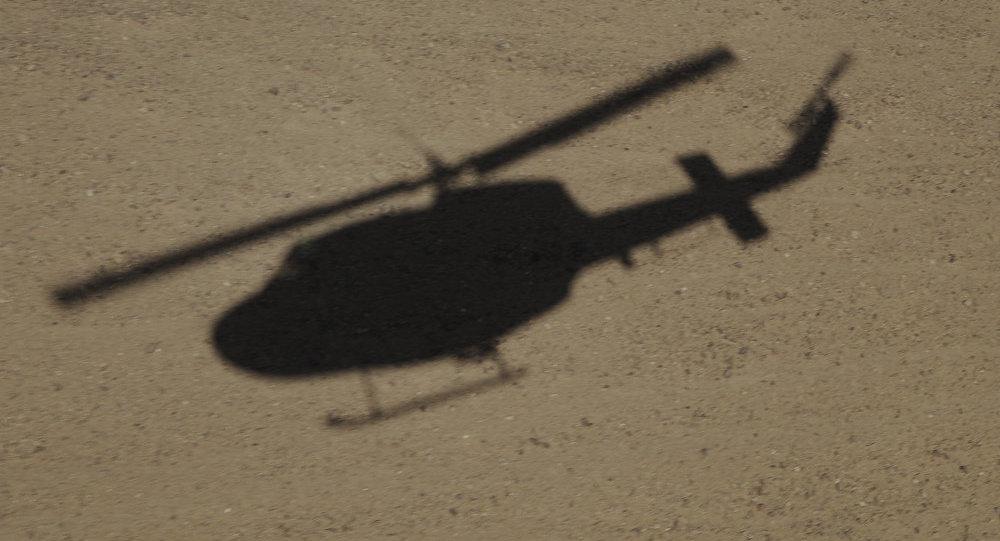 Sombra de helicóptero AB-212 (imagem referencial)