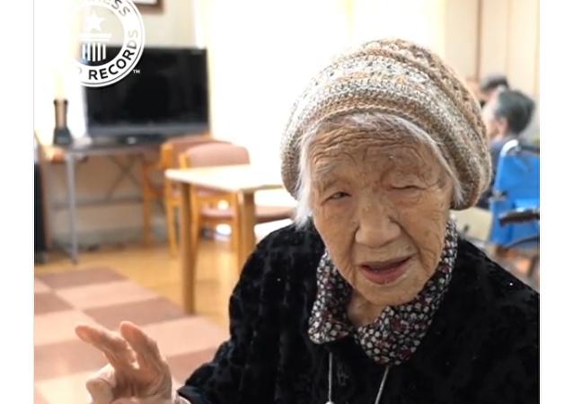 Kane Tanaka completa 116 anos e se torna a pessoa mais velha do mundo.