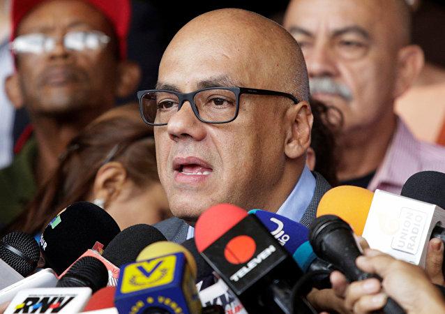 Jorge Rodríguez, alcalde de Caracas