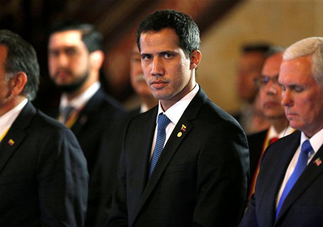 Juan Guaidó, opositor venezuelano